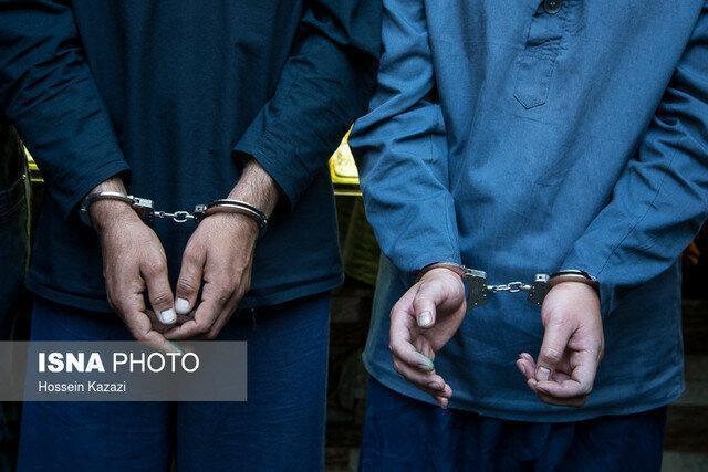 قتل در هرات، دستگیری در تهران