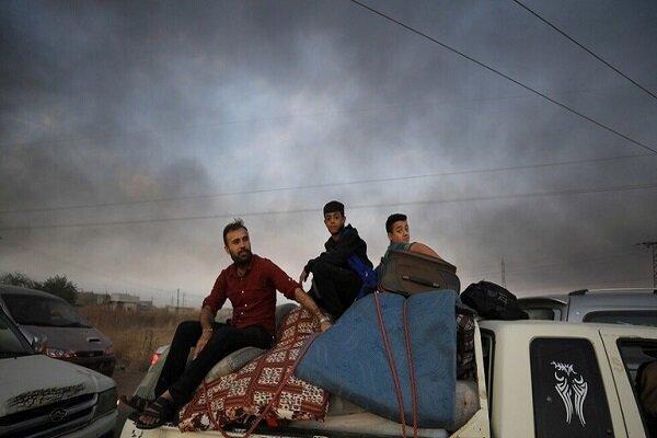 سوری های ساکن مناطق شمالی به منازل خود بازگشتند