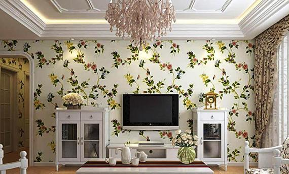 انتخاب کاغذ دیواری برای خانه های کوچک