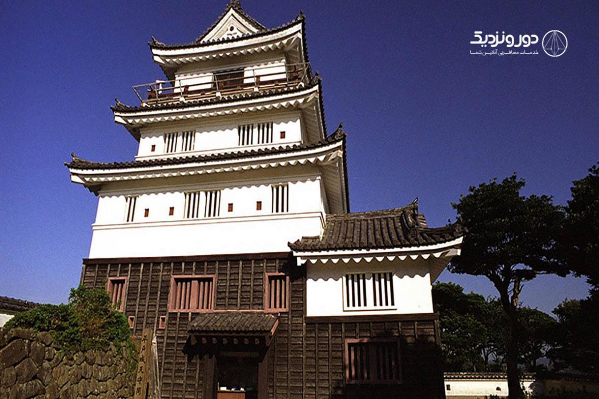 همسایه نینجاها در قلعه تاریخی ژاپنی شوید