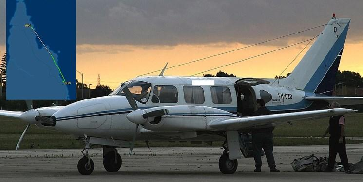 سقوط یک هواپیمای سبک در استرالیا 5 کشته برجا گذاشت