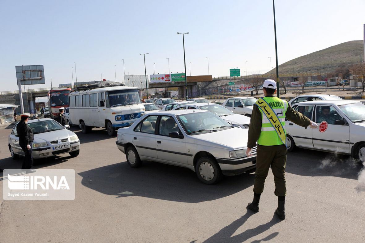 خبرنگاران تمامی مبادی ورودی و خروجی شهر یزد بسته شد